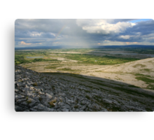 Evening at Mullaghmore Canvas Print