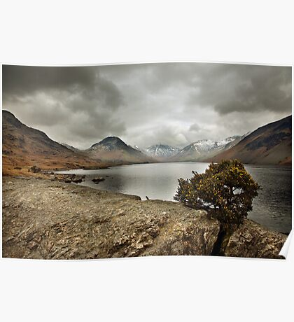 A Wasdale Winter Poster