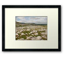The Burren Framed Print