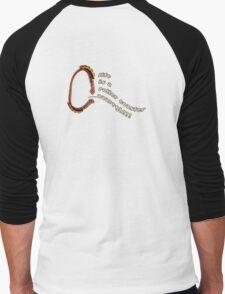 life is a roller coaster...argh! Men's Baseball ¾ T-Shirt