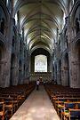 Christchurch Priory inside, Dorset by Evgeniya Sharp