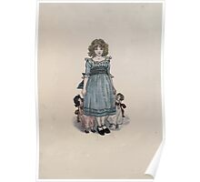 The Queen of Pirate Isle Bret Harte, Edmund Evans, Kate Greenaway 1886 0008 Frontpiece Poster