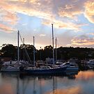 Tweed Marina Sunset by Graham E Mewburn