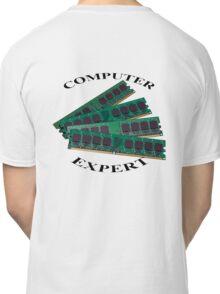 Computer expert Classic T-Shirt