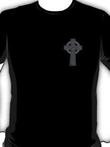Celtic High Cross Greyscale T-Shirt