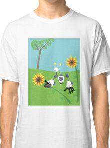 Flora and Robotics Classic T-Shirt