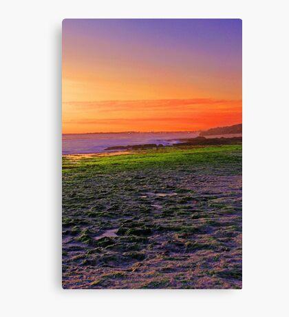 North Beach At Sunset  Canvas Print
