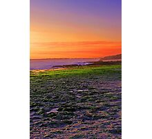 North Beach At Sunset  Photographic Print