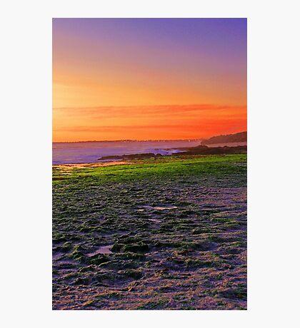 North Beach At Sunset  Photographic Print