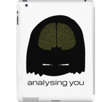 analysing you - dark iPad Case/Skin