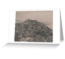 grecian hill Greeting Card