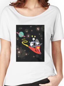ROBOT EXPLORATION Women's Relaxed Fit T-Shirt