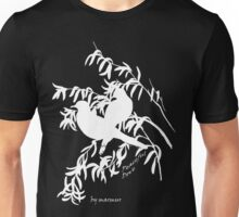 White Peaceful Dove Unisex T-Shirt