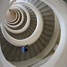 Spiraling down by Nupur Nag