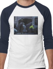 monday morning Men's Baseball ¾ T-Shirt