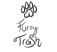 Furry Trash Photographic Print