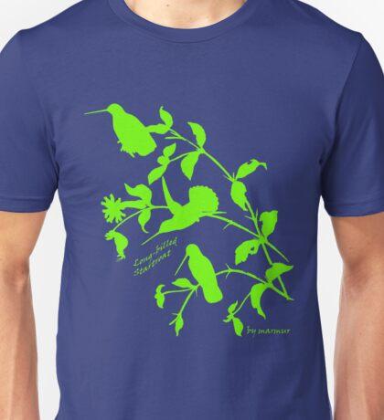 green long-billed starthroat, Unisex T-Shirt
