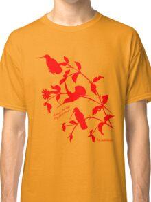 red long-billed starthroat Classic T-Shirt