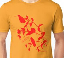 red long-billed starthroat Unisex T-Shirt