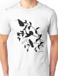 Black long-billed starthroat Unisex T-Shirt