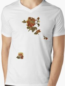 A scatter of silken flowers Mens V-Neck T-Shirt