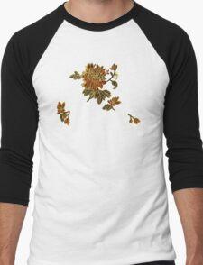 A spray of silk flowers Men's Baseball ¾ T-Shirt