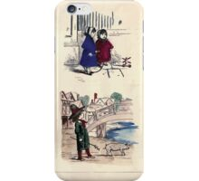 The Little Folks Painting book by George Weatherly and Kate Greenaway 0031 iPhone Case/Skin