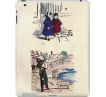 The Little Folks Painting book by George Weatherly and Kate Greenaway 0031 iPad Case/Skin