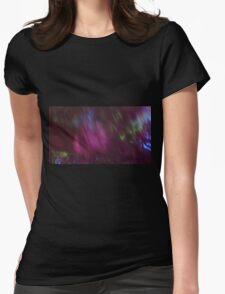 Back to the vivid forest n°1 Womens Fitted T-Shirt