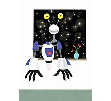 Robot Dreamer Photographic Print