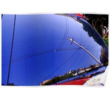 The Fish-Eye Sky, Grounded Poster