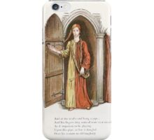 The Pied Piper of Hamlin Robert Browning art Kate Greenaway 0018 The Piper iPhone Case/Skin