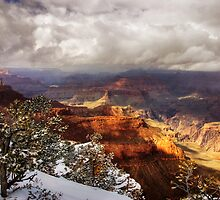 The Grand Canyon, South Rim view by Hugster62