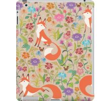 Flower Foxes iPad Case/Skin