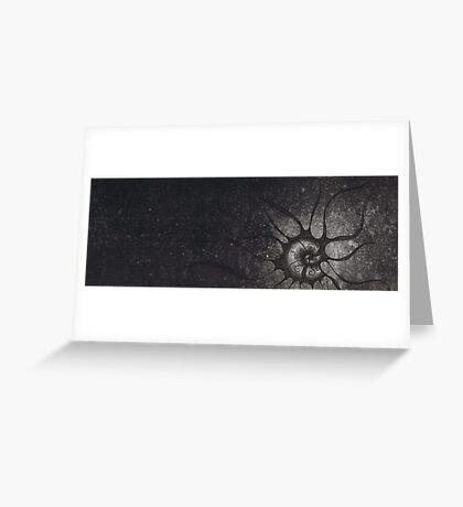 Moon Shadow #2 Greeting Card