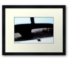 Rear Vision Framed Print