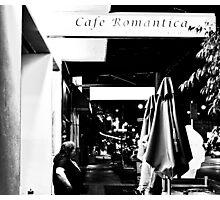 Cafe Romantica... Photographic Print