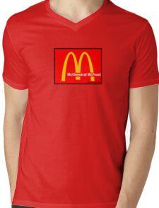 McDonalds = McCHEMICAL McFEASt Mens V-Neck T-Shirt