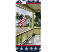 Small Town USA ~ Fourth of July iPhone Case/Skin