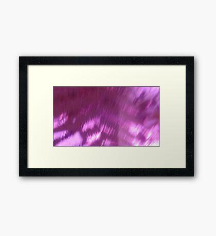 Back to the vivid forest n°4 Framed Print