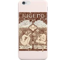 Jugendstil iPhone Case/Skin
