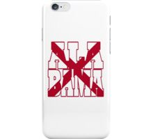 Alabama state flag iPhone Case/Skin