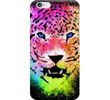 Tiger - Colorful Paint Splatters Dubs - T-Shirt Stickers Art Prints iPhone Case/Skin