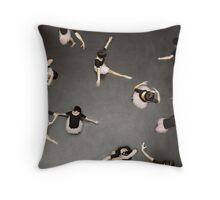 ballet from above Throw Pillow