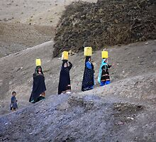 The carriers of water (Afghanistan) by Antanas