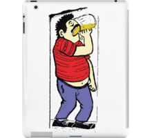 Drinking Beer T-Shirt - Stickers - Notebooks iPad Case/Skin