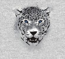 White Tiger - Paint Splatters Dubs T-Shirt Stickers Art Prints Kids Clothes