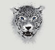 White Tiger - Paint Splatters Dubs T-Shirt Stickers Art Prints by Denis Marsili - DDTK