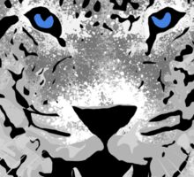 White Tiger - Paint Splatters Dubs T-Shirt Stickers Art Prints Sticker