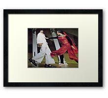 Seduction of Joesph Framed Print